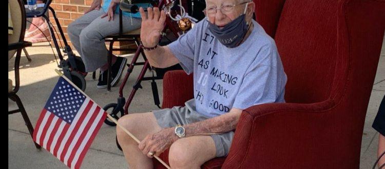 Kenny Snavley CVVFA's Oldest Member at 103.