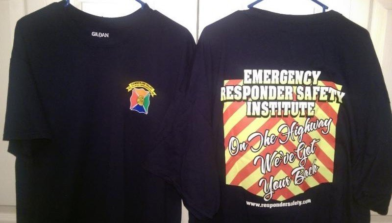 New CVVFA Responder Safety T-Shirts Now Available
